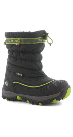 Viking Windchill GTX Boots Kids Black/Lime